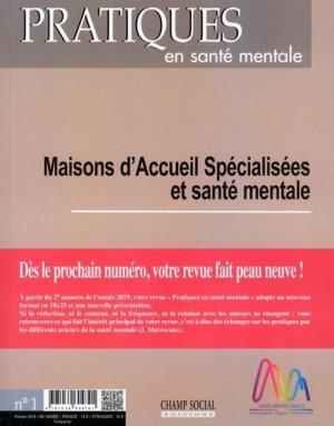 Maison d'Accueil Spécialisées et santé mentale-champ social-9791034604791