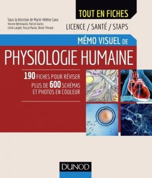 Mémo visuel de physiologie humaine-dunod-9782100767083
