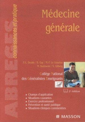 Médecine générale-elsevier / masson-9782294067686