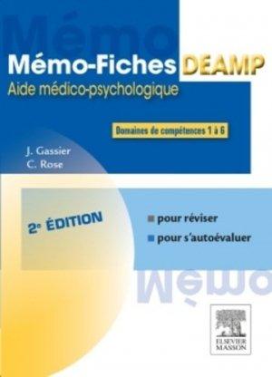 Mémo-fiches DEAMP-elsevier / masson-9782294744853