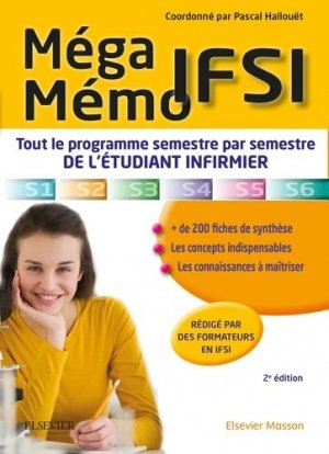 Méga Mémo IFSI-elsevier / masson-9782294749247