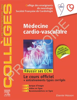 Référentiel Collège de Médecine cardio-vasculaire-elsevier / masson-9782294763328