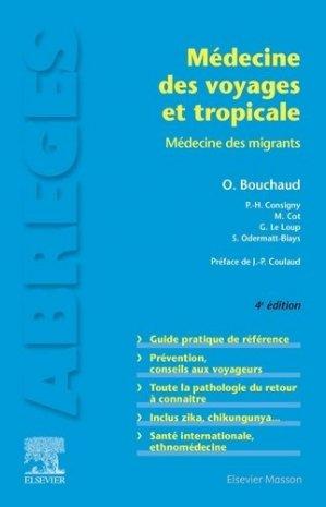 Médecine des voyages et tropicale-elsevier / masson-9782294763823