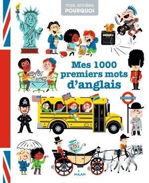 Mes 1 000 premiers mots d'anglais - milan - 9782408014605