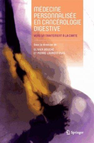 Médecine personnalisée en cancérologie digestive-springer-9782817804262
