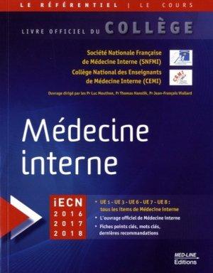 Médecine interne - med-line - 9782846781565