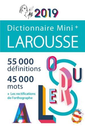 Mini plus dictionnaire de français 2019-larousse-9782035950369