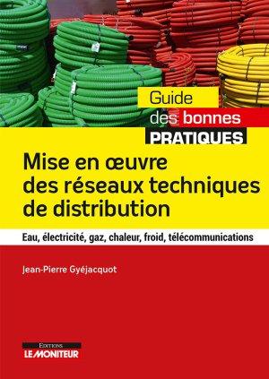 Mise en oeuvre des réseaux techniques de distribution-le moniteur-9782281140323