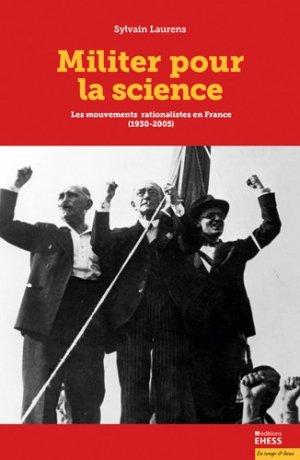 Militer pour la science-ehess-9782713227691