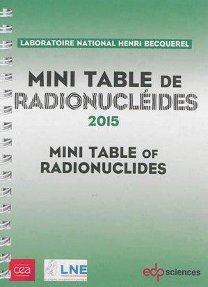 Mini-table de radionucléides-edp sciences-9782759811861