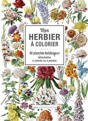 Mon herbier à colorier-larousse-9782035943491