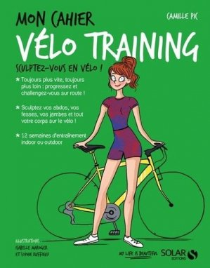 Mon cahier Vélo training-solar -9782263153266