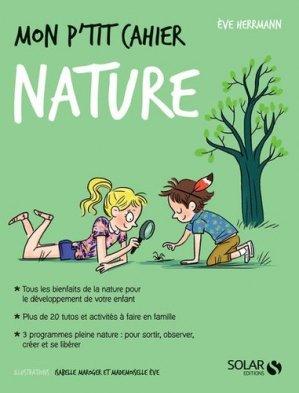 Mon p'tit cahier nature-solar-9782263159954