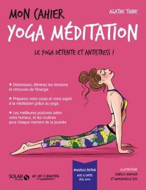 Mon cahier yoga-méditation-Solar-9782263161537
