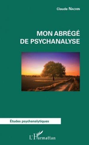 Mon abrégé de psychanalyse-l'harmattan-9782343127866