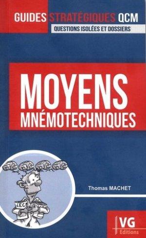 Moyens mnémotechniques-vernazobres grego-9782818316733
