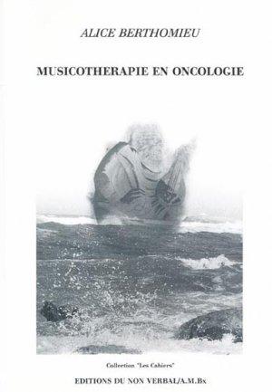 Musicothérapie en oncologie - du non verbal - 9782906274174