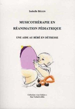 Musicothérapie en réanimation pédiatrique-du non verbal-9782906274921