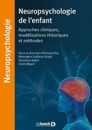 Neuropsychologie de l'enfant-de boeck superieur-9782807320895