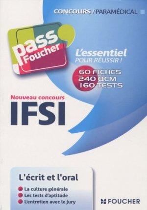 Nouveau concours IFSI-foucher-9782216114740