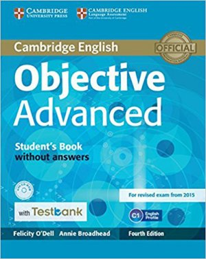 Objective Advanced - Student's Book without Answers with CD-ROM with Testbank - cambridge - 9781107542372