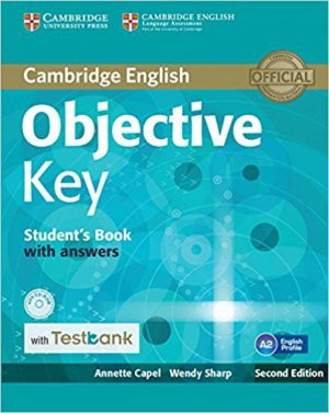 Objective Key - Student's Book with Answers with CD-ROM with Testbank - cambridge - 9781316602263