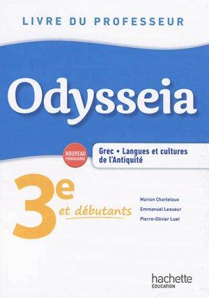 Odysseia : grec, langues et cultures de l'Antiquité-hachette-9782017042181