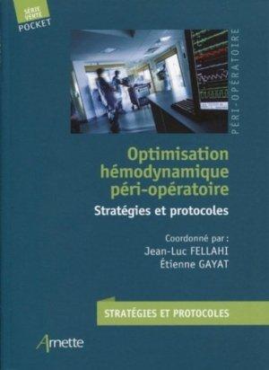 Optimisation hémodynamique péri-opératoire-Arnette-9782718415468