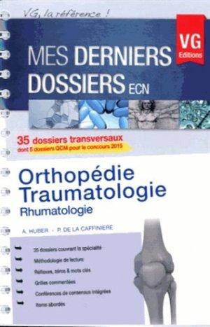 Orthopédie - Traumatologie - vernazobres grego - 9782818308691