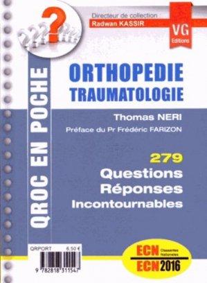 Orthopédie - vernazobres grego - 9782818311547