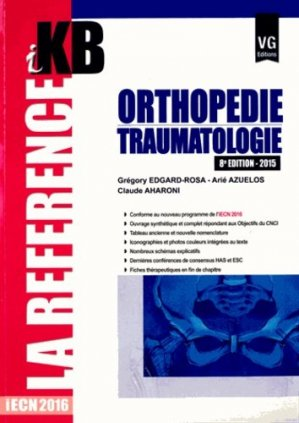Orthopédie - Traumatologie-vernazobres grego-9782818312919