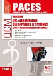 Organisation des appareils et systèmes UE5 Tome 2 - vernazobres grego - 9782818315064