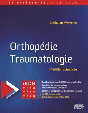 Orthopédie Traumatologie-med-line-9782846782227