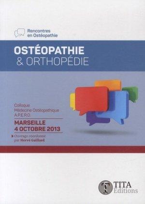 Ostéopathie et orthopédie - tita - 9791092847000