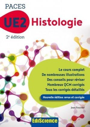 PACES UE2 Histologie-ediscience-9782100794225