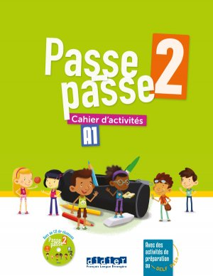 Passe-Passe niv. 2 - Cahier + CD-didier-9782278087228