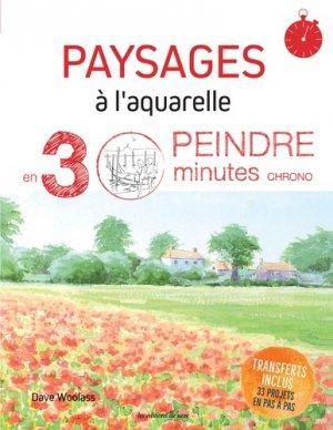 Paysages à l'aquarelle - de saxe - 9782756532875