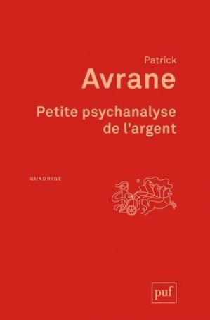 Petite psychanalyse de l'argent-puf-9782130798286