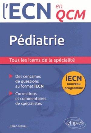 Pédiatrie - ellipses - 9782340005518