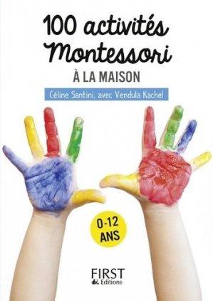 Petit livre de 100 activités montessori pour les enfants-first -9782412030608