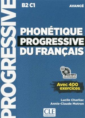 PHONETIQUE PROGRESSIVE FRANCAIS B2/C1 -cle international-9782090382204