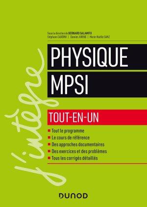 Physique MPSI - dunod - 9782100794027
