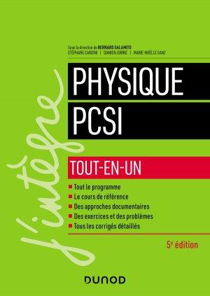 Physique PCSI - Tout-en-un-dunod-9782100800209