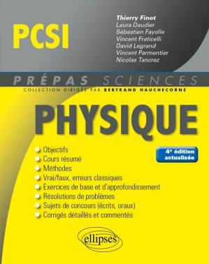 Physique PCSI-ellipses-9782340023765
