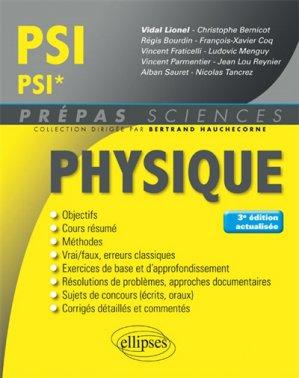 Physique PSI - PSI*-ellipses-9782340027473