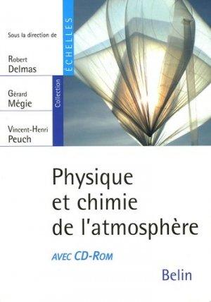 Physique et chimie de l'atmosphère-belin-9782701137001