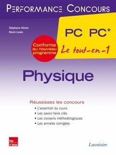 Physique PC* - PC 2ème année - lavoisier / tec et doc - 9782743015909