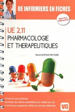 Pharmacologie et thérapeutiques UE 2.11 - vernazobres grego - 9782818304532
