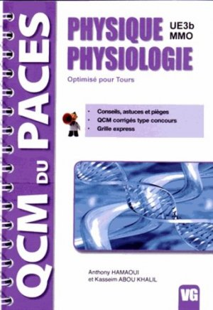 Physique Physiologie UE 3b MMO-vernazobres grego-9782818311868