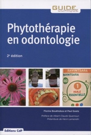 Phytothérapie en odontologie - cdp - 9782843614071